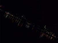Annecy nocturne - Depuis l'avenue d'Albigny