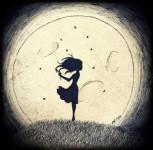 à la lune