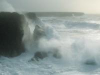 tempête à Belle-île