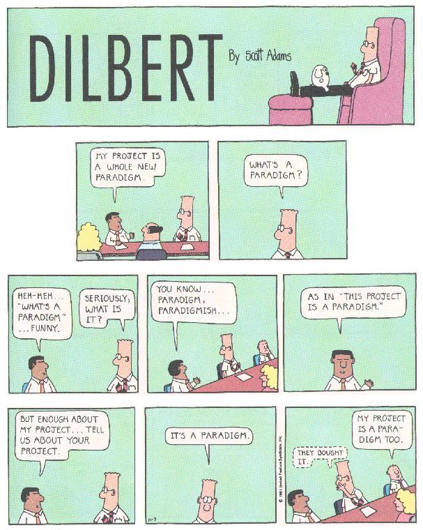 Dilbert - Paradigme