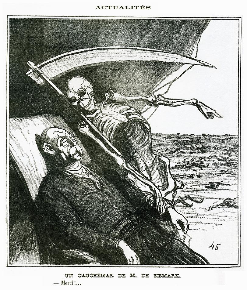 Daumier-Bismark-cauchemar-rêve