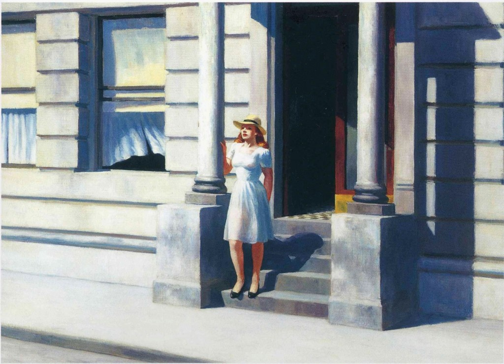 Blue hotel - Summertime - Edward Hopper