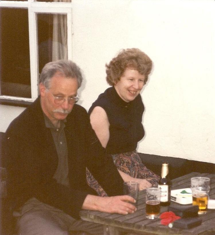 W.G. Sebald et Janine R. Dakyns