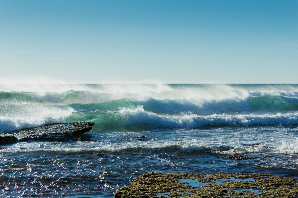 mer vagues