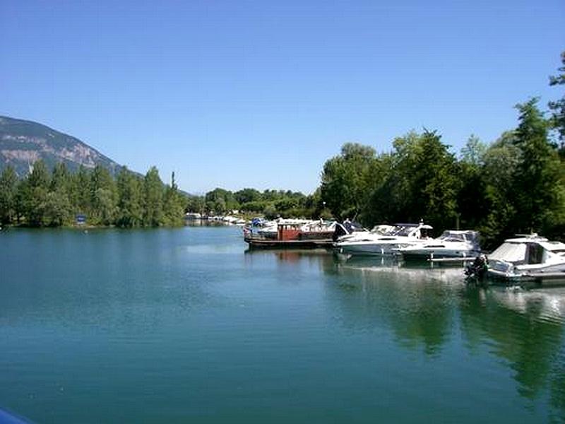Le lac - canal de Savière - 2008