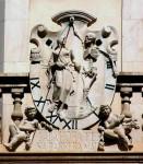 Gnomon de la place Santa-Eulalia de Palma de Majorque