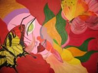 Papillon - Peinture