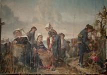 Scene de Cornouaille - Peinture
