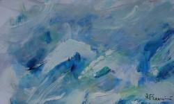 Neige - peinture
