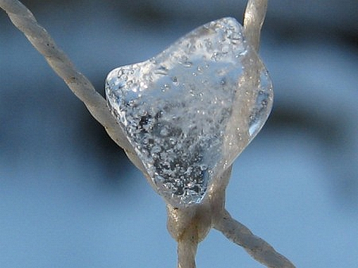 Amour d'hiver - ice heart