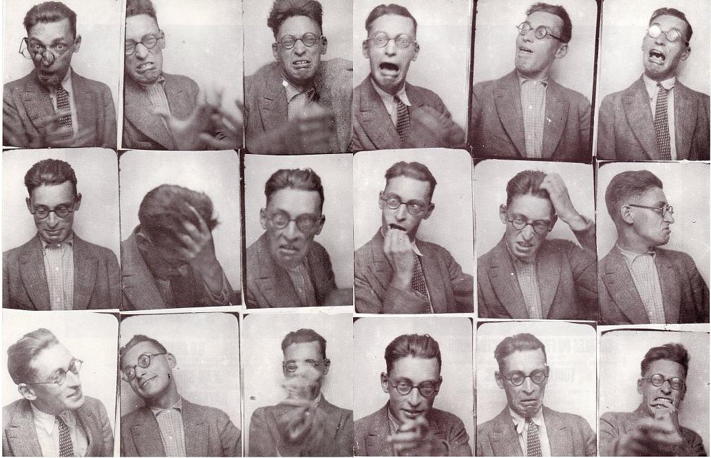 Raymond Queneau - photomatons