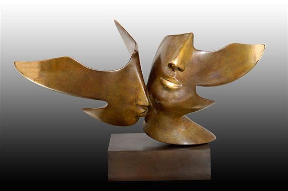 Baiser-dans-le-cou-sculpture