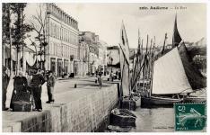 Photo du quai Jean Jaurès à Audierne