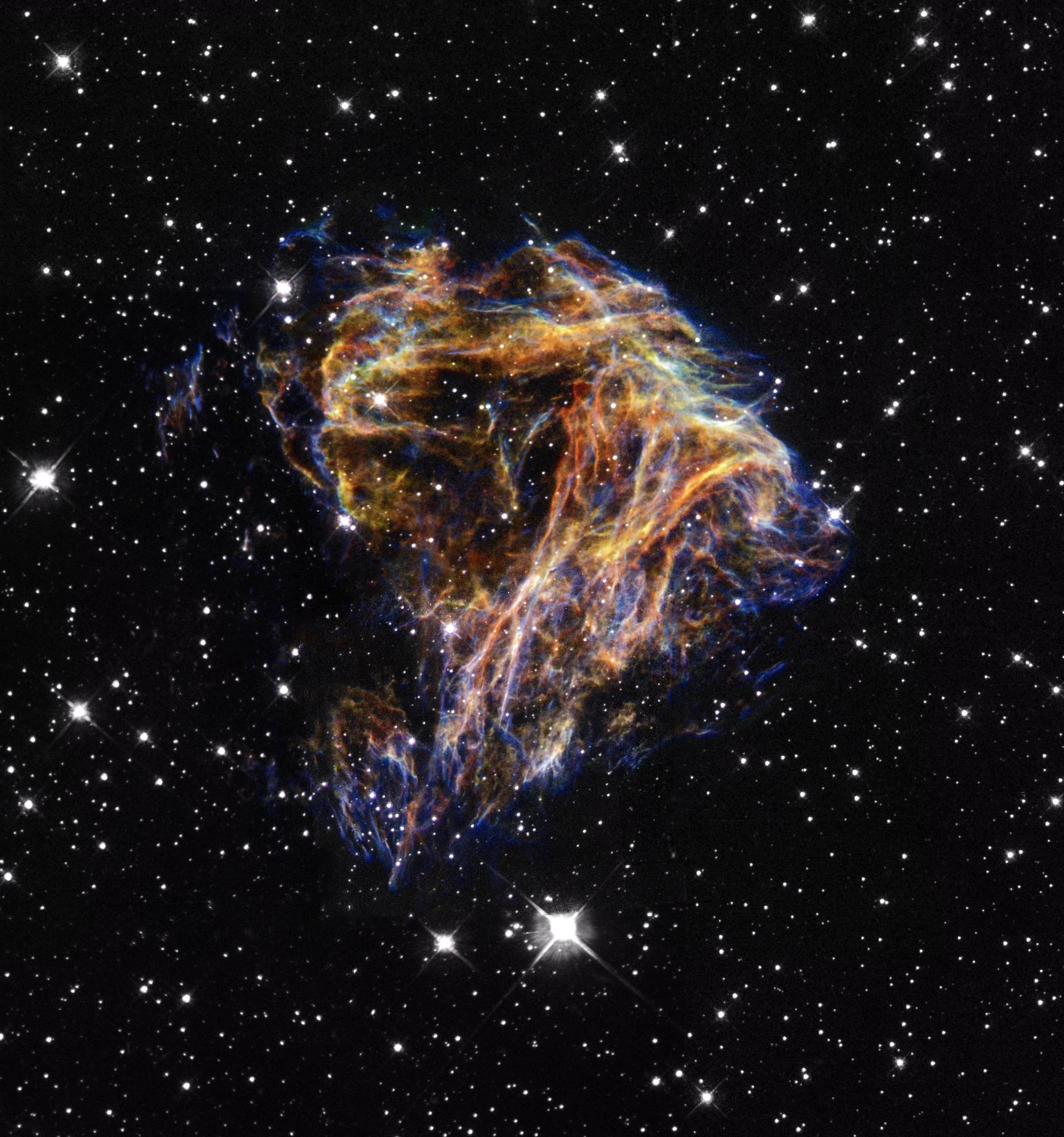 cosmic blast n49 - nasa