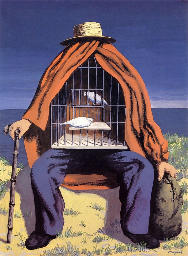 commune présence - Magritte - Le thérapeute