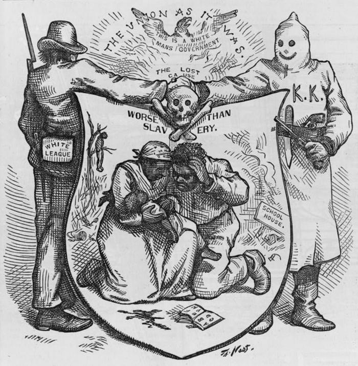 K - Caricature worse than slavery - nast