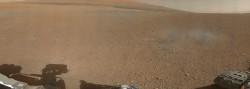 Photo de Mars par Curiosity