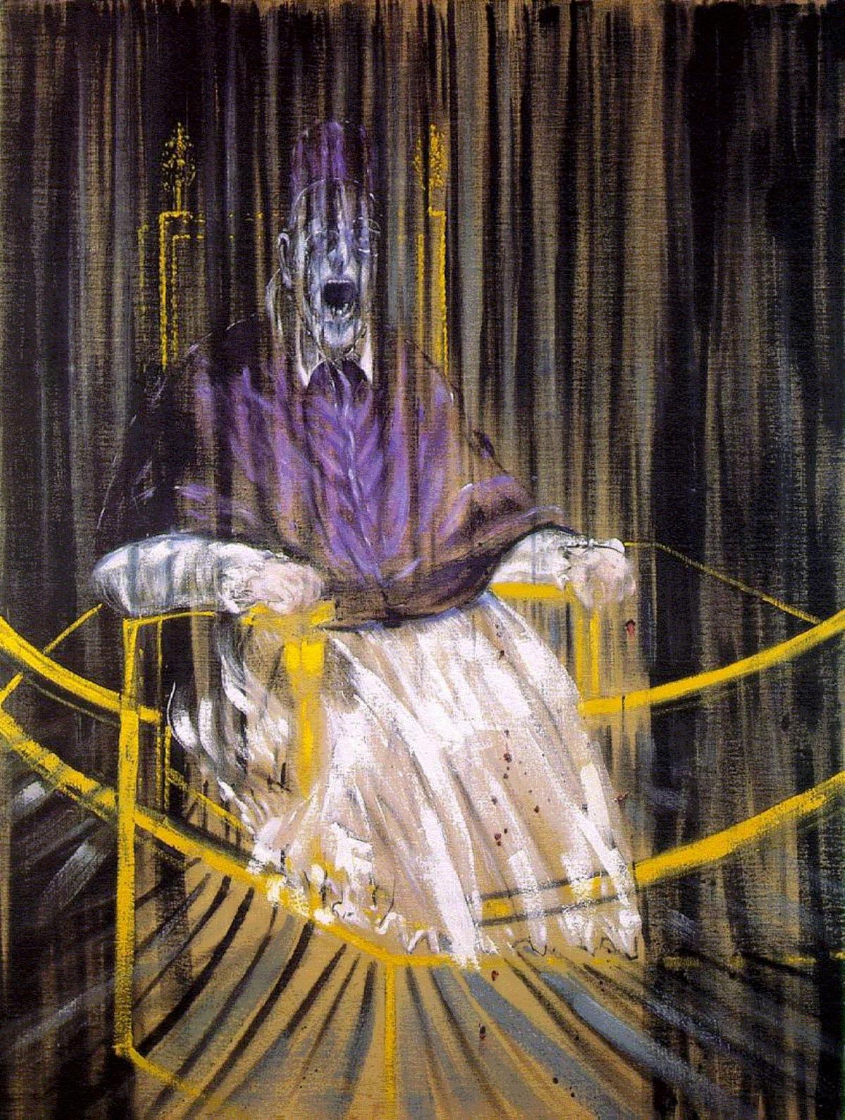 Libre arbitre - Étude à partir du « Portrait du pape Innocent X » de Vélazquez – Francis Bacon