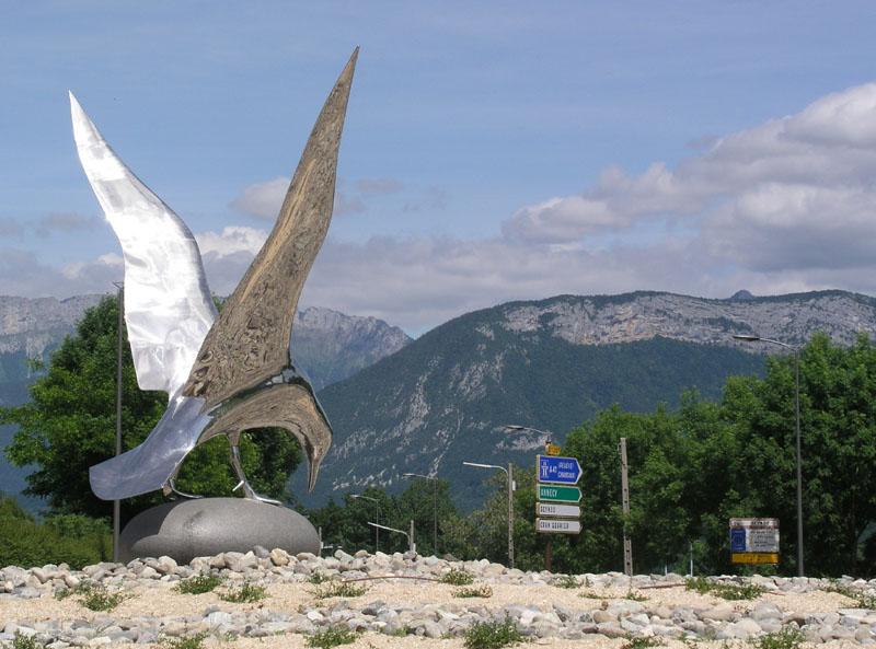 Rond point de la mouette - Annecy (Seynod)