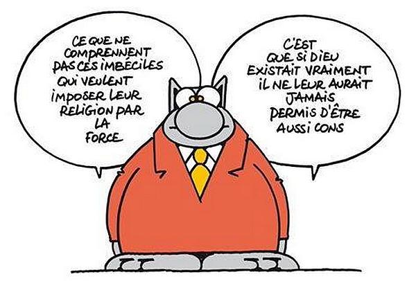 Le chat - Attentats de Bruxelles