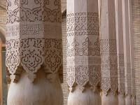 piliers d'une mosquée à Tachkent