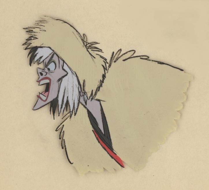 la folle du marché d'Annecy - Cruella