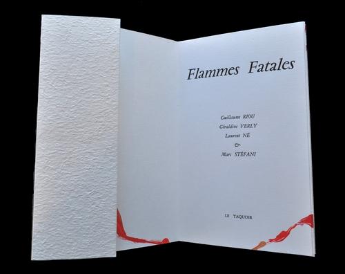 Flammes Fatales - Page de titre
