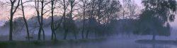 La brume du soir