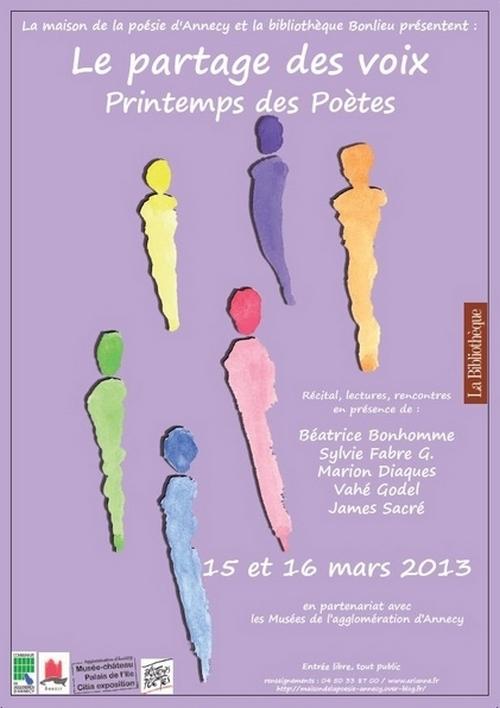 Le Partage des Voix 2013 - Annecy