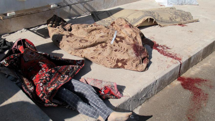 morts à Alep - 2014