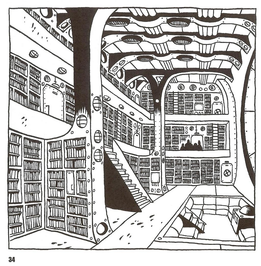 la bibliothèque du Nautilus