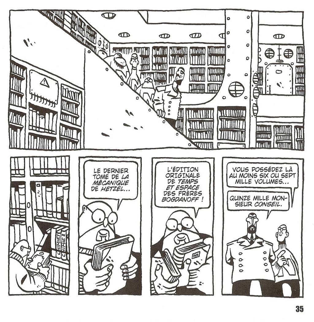 le bibliothèque du Nautilus