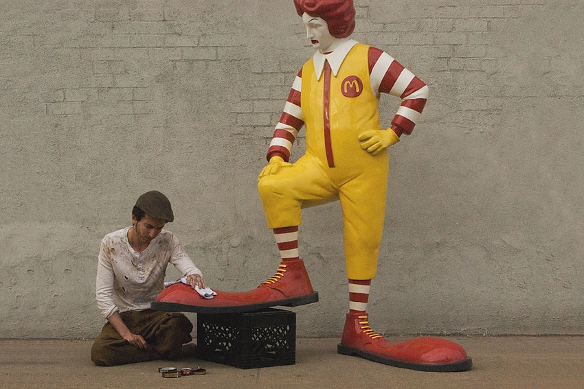McDonald's - Better Out Than In - Banksy