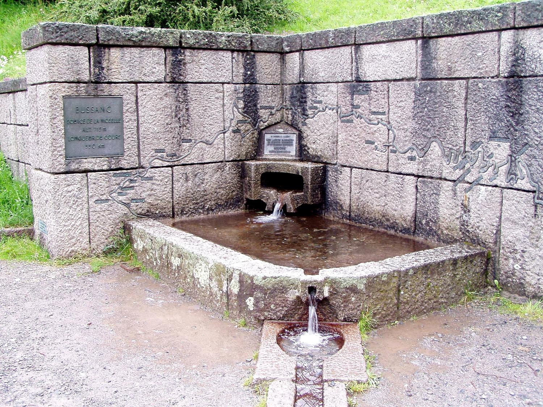 Source de la Moselle - Bussang (Vosges)
