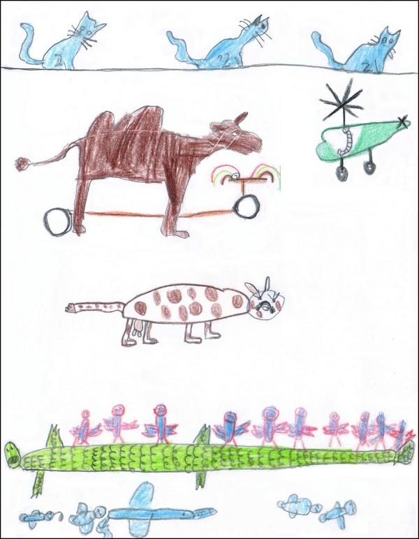Poisson d'avril - Paul Géraldy - Dessin de Martin Riou