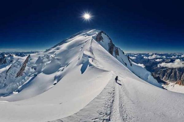 Prière indienne - Mont-Blanc
