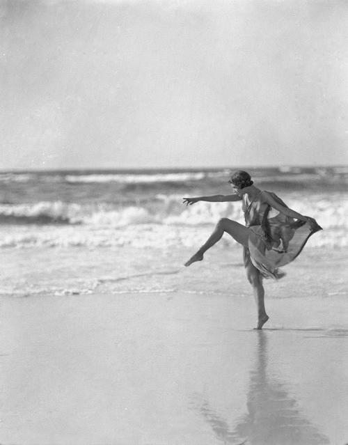 Lâcher prise - Anna Duncan sur la plage