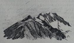 Aurore en montagne