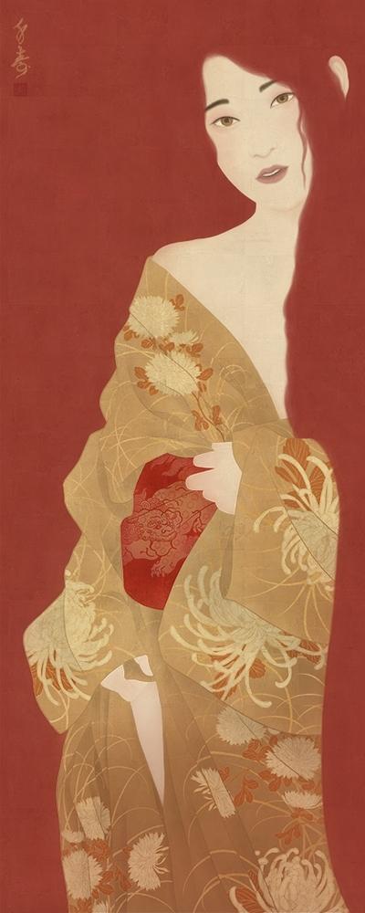 Rococo japonais - Akane - Senju Shunga