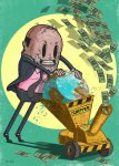 Boulimie - Chipper, dessin de Steve Cutts